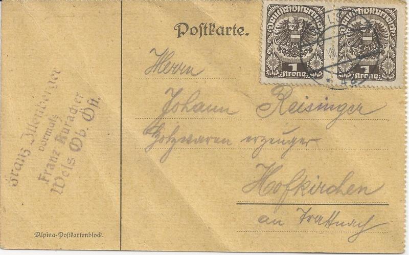 Inflation in Österreich - Belege - 1918 bis 1925 - Seite 7 Bild_616