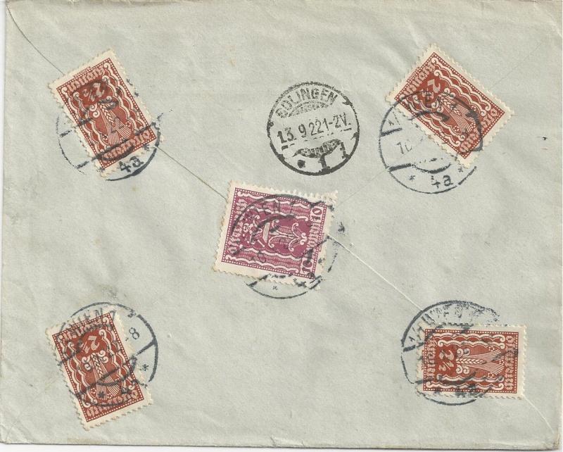 nach - Devisenkontrolle im Deutschen Reich nach Ende des 1. Weltkrieges Bild_617