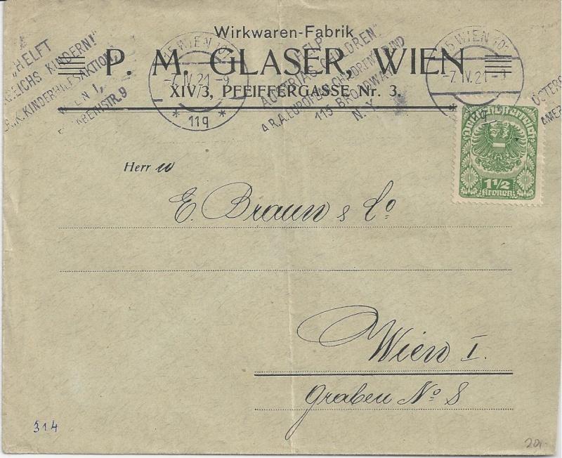 Inflation in Österreich - Belege - 1918 bis 1925 - Seite 7 Bild_713