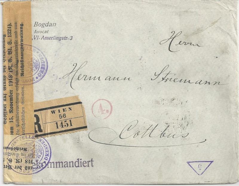 nach - Devisenkontrolle im Deutschen Reich nach Ende des 1. Weltkrieges Bild_714