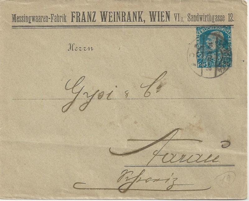 Private Briefumschläge Monarchie Bild_718