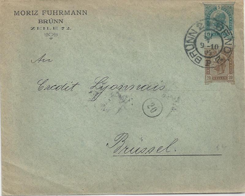 Private Briefumschläge Monarchie Bild_810