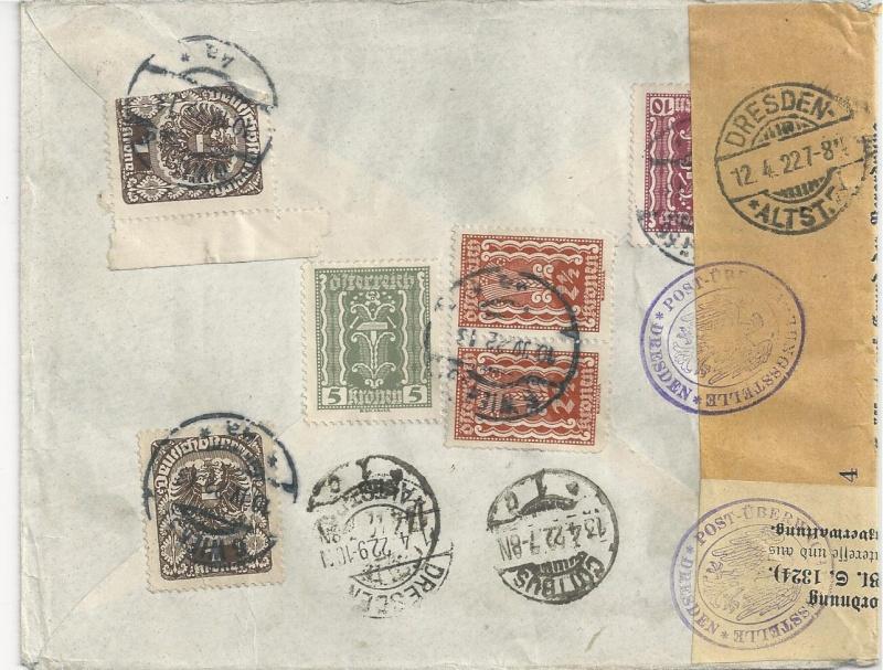 Devisenkontrolle im Deutschen Reich nach Ende des 1. Weltkrieges Bild_812