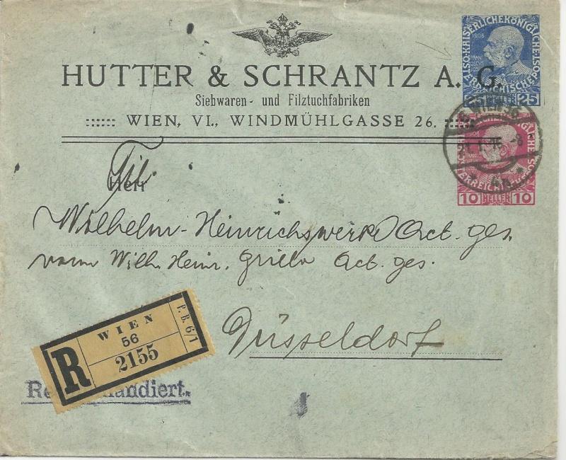 Private Briefumschläge Monarchie Bild_815