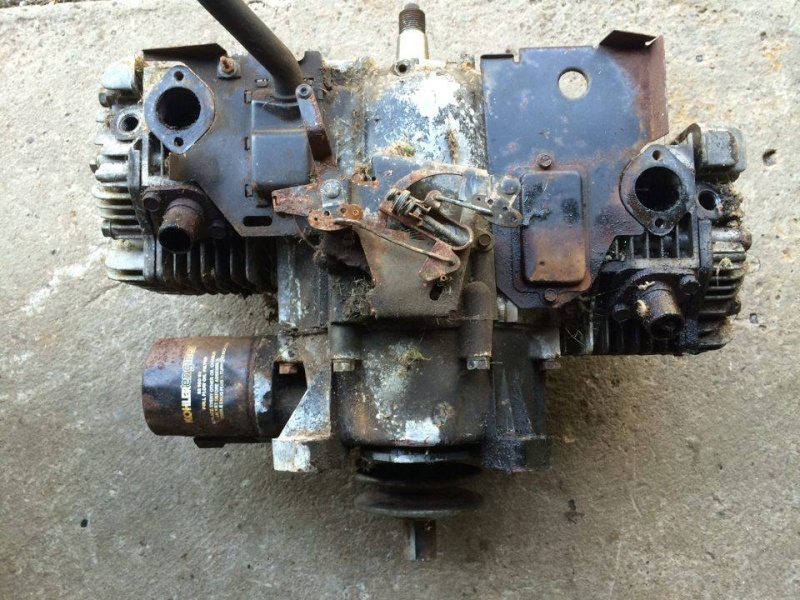 Entire Opposed Pressure lube Internals Swap & Info 12431210