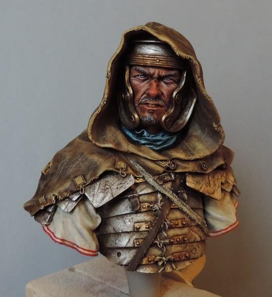 """Buste de légionnaire Romain """"Aquila""""... FINI ... Dscn2188"""