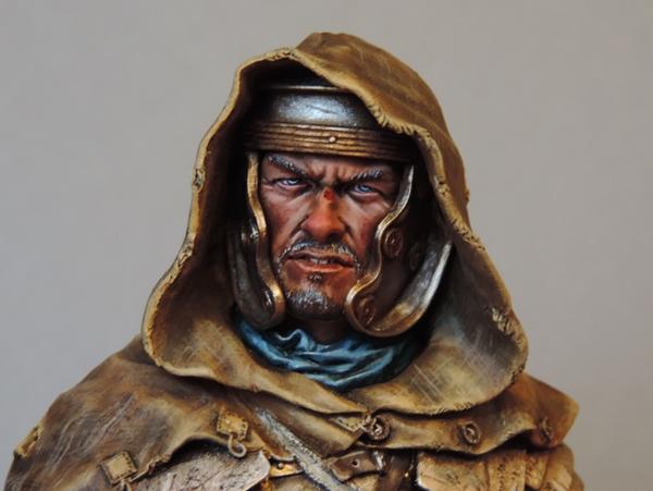 """Buste de légionnaire Romain """"Aquila""""... FINI ... Dscn2191"""