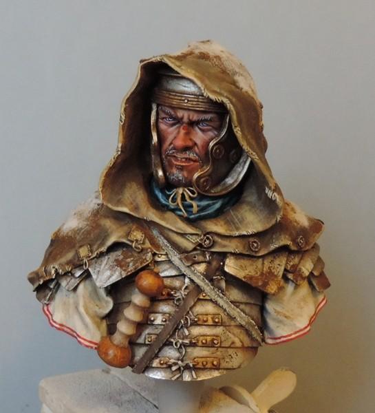 """Buste de légionnaire Romain """"Aquila""""... FINI ... Dscn2195"""