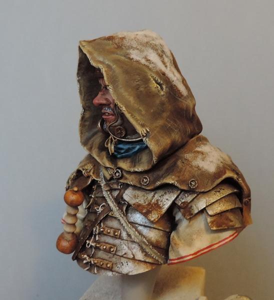 """Buste de légionnaire Romain """"Aquila""""... FINI ... Dscn2196"""