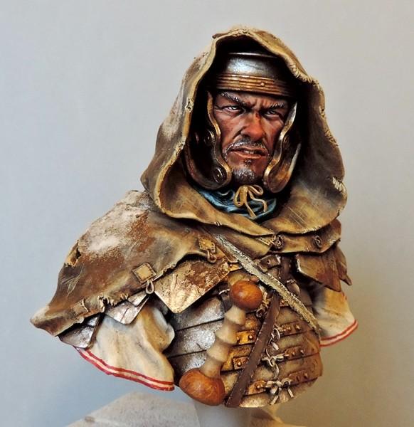 """Buste de légionnaire Romain """"Aquila""""... FINI ... Fscn2113"""