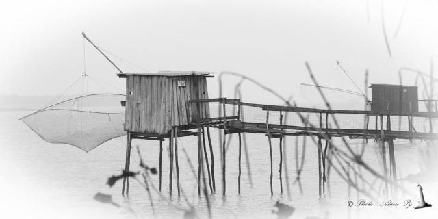 Estuaire Médoc en brume vu par Alain Py 12243410