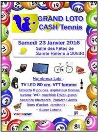 Super Loto Cash Tennis le 23 Janvier 2016 à Sainte Helene 15cb4c10