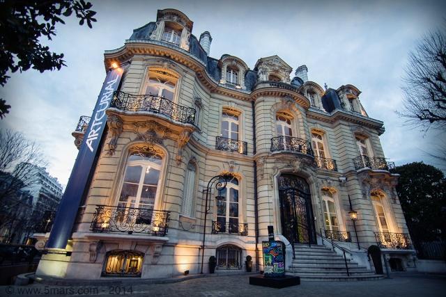 Une dégustation de Médoc sur les Champs-Elysées Artcur10