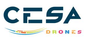 Une zone d'essais de Drones à Vendays Montalivet Cesadr10