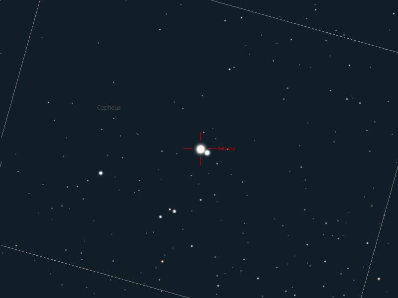 Spectres d'étoiles remarquables Delcep10