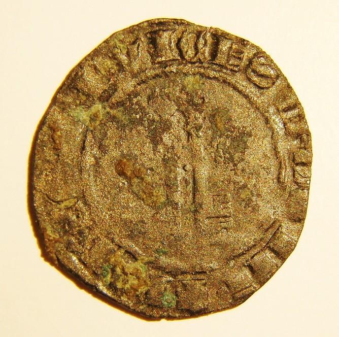 Billon  JEAN XXIII  Antipape de 1410 à 1415 Avers110