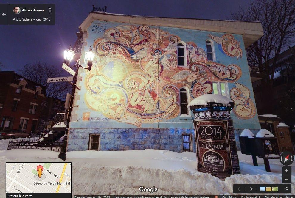 STREET VIEW : les fresques murales - MONDE (hors France) - Page 19 2015-123