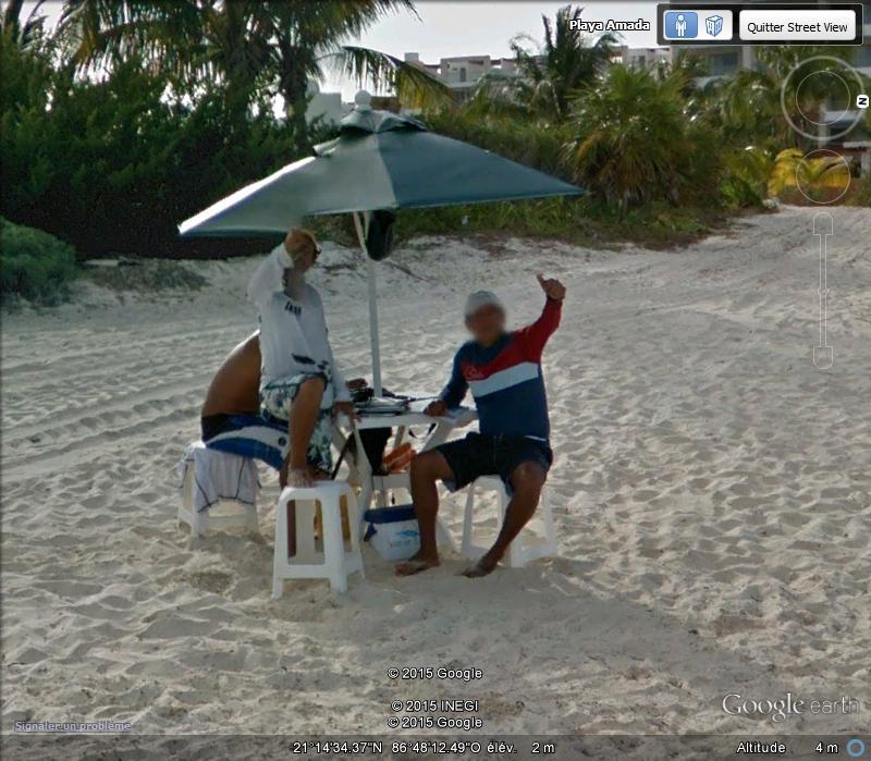 STREET VIEW: Vamos a la playa. Cancun, Mexique  A10
