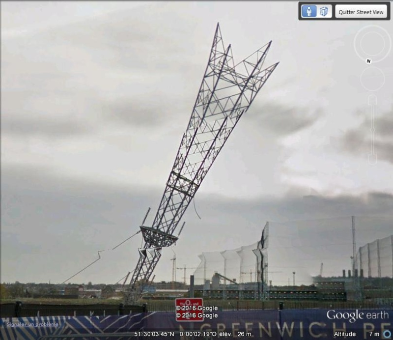"Enfin visible sur GE : A Bullet From A Shooting Star"" - Greenwich Peninsula - Londres - uk A16"