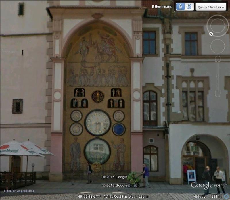 L'horloge astronomique d'Olomouc - République Tchèque. A212