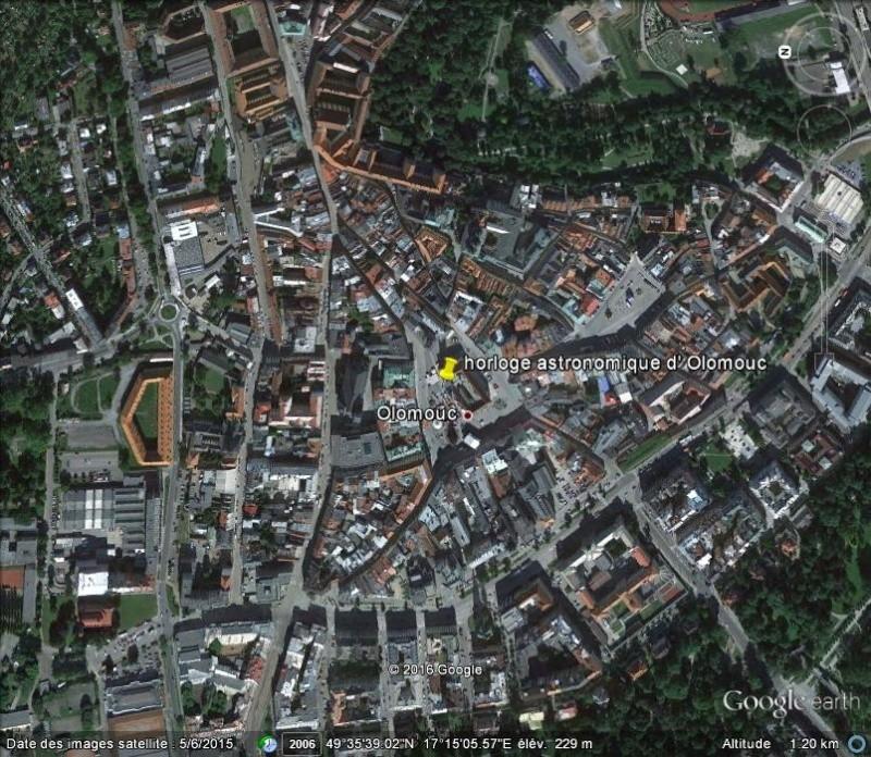 L'horloge astronomique d'Olomouc - République Tchèque. A22