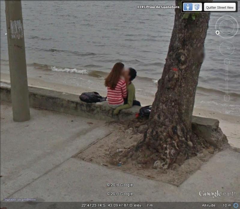 """STREET VIEW : embrassez-vous ... vous êtes photographiés ! (Répliques de la photo """"Le baiser de l'Hôtel de Ville"""" de Robert Doisneau) - Page 2 D25"""