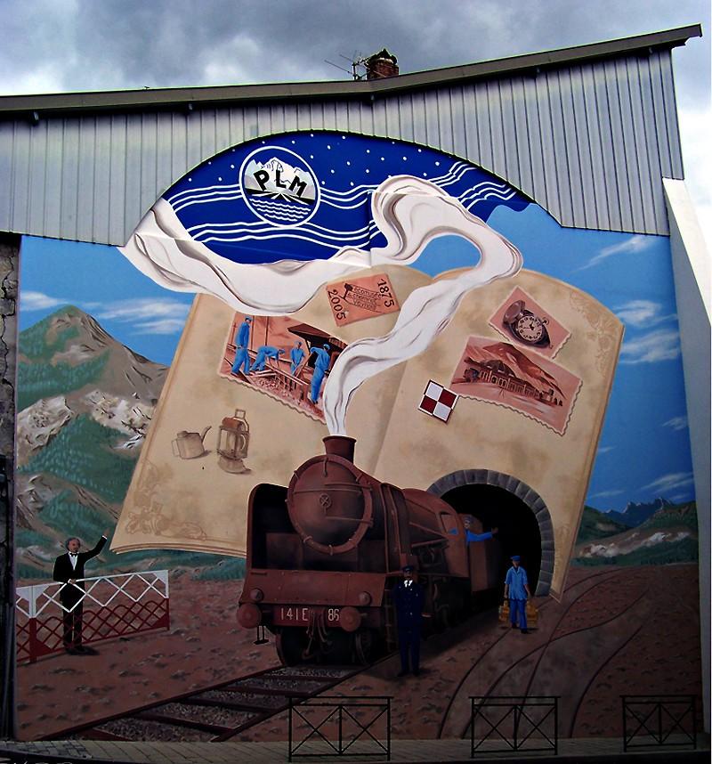 STREET VIEW : les fresques murales en France - Page 20 Fresqu10