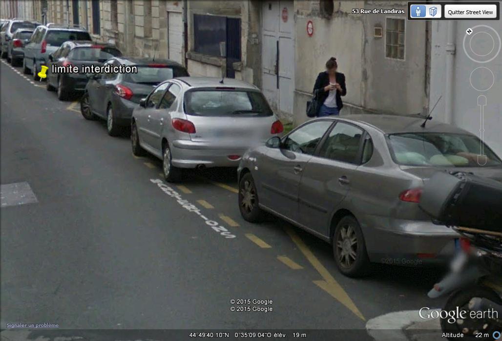 Street View : Les infractions au code de la route G10