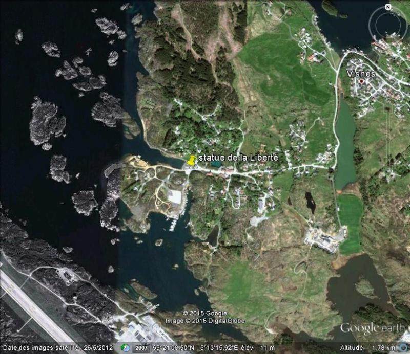 Statue de la Liberté = les répliques découvertes grâce à Google Earth - Page 6 G18