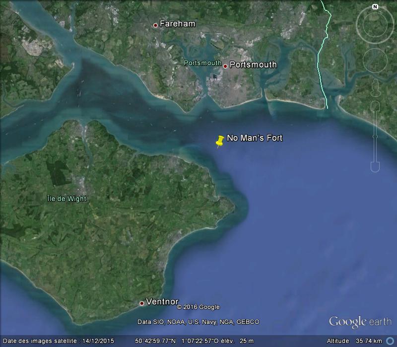 No Man's Fort - Portsmouth - GB G23