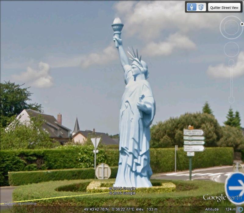 Statue de la Liberté = les répliques découvertes grâce à Google Earth - Page 6 K19
