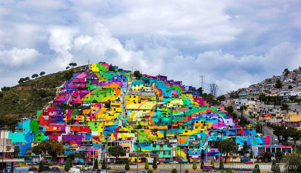 Les couleurs de Las Palmitas - Pachuca - Mexique Villag10