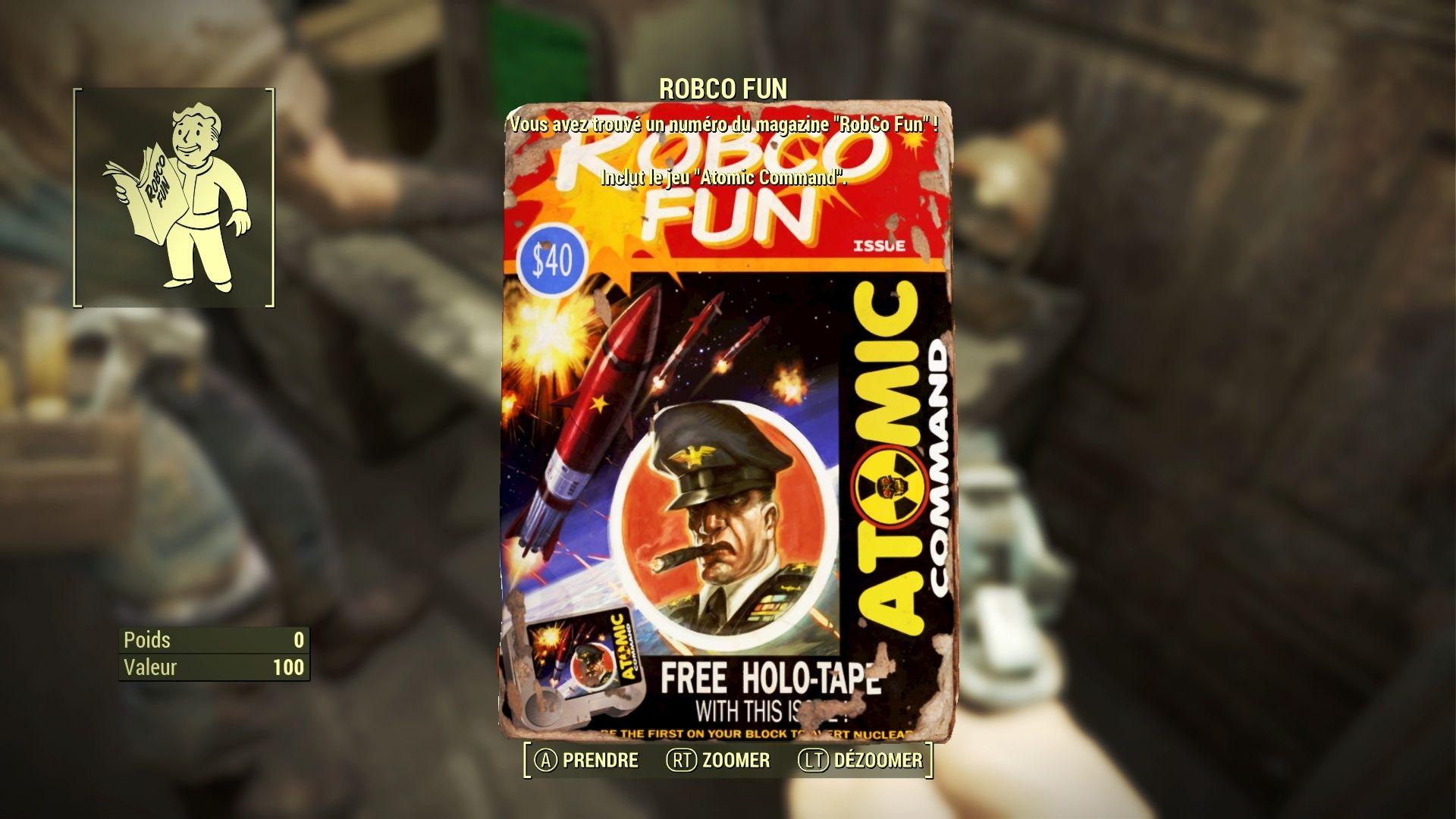 "Fallout 4 : Les magazines ""ROBCO FUN"" Fallou20"