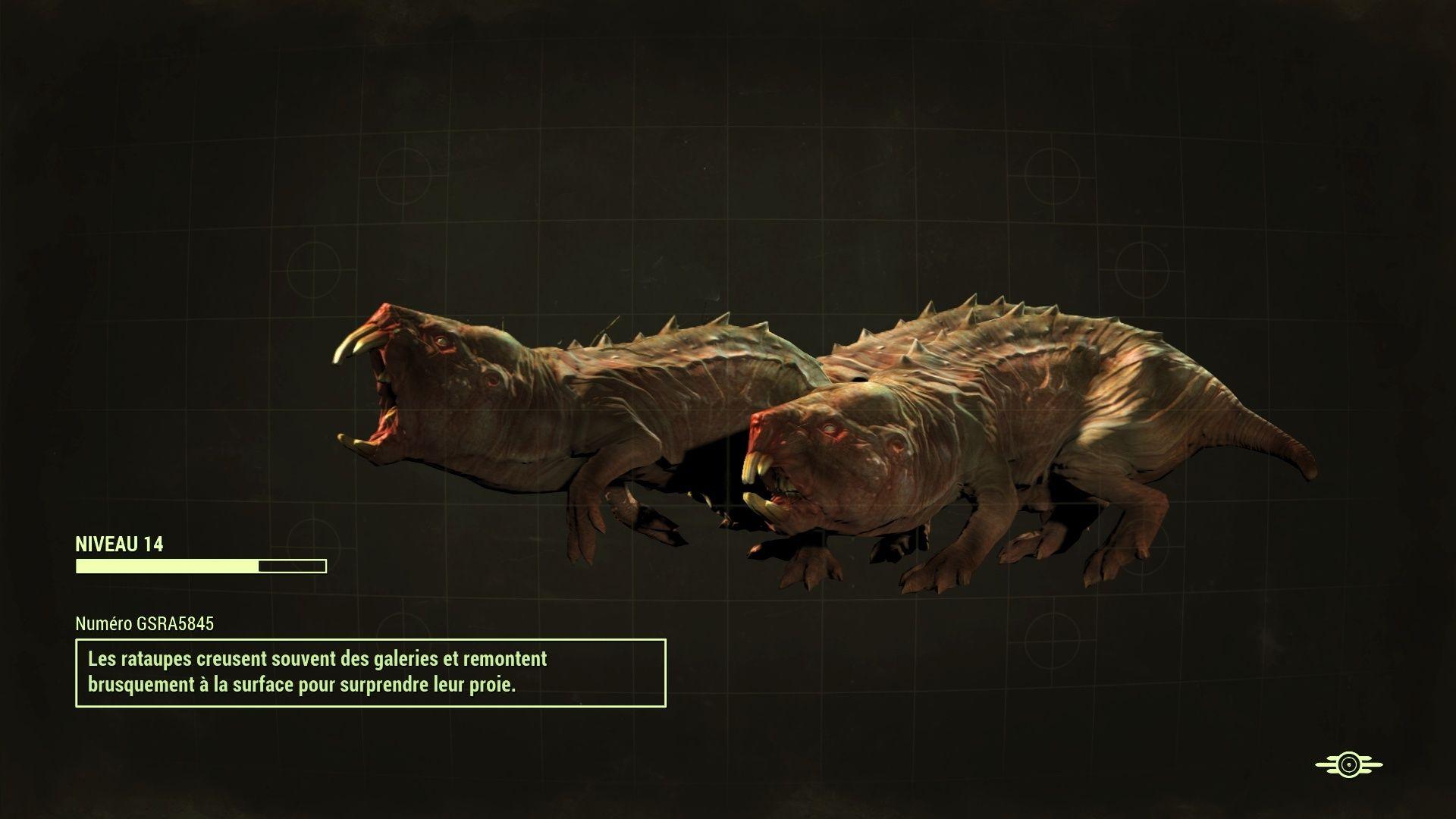 Fallout 4 : Les créatures Fallou24
