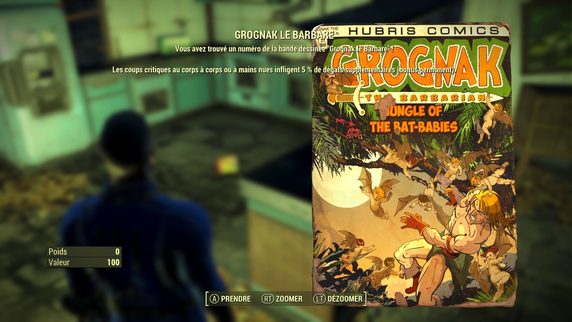 "Fallout 4 : Les magazines ""GROGNAK LE BARBARE"" Fallou25"