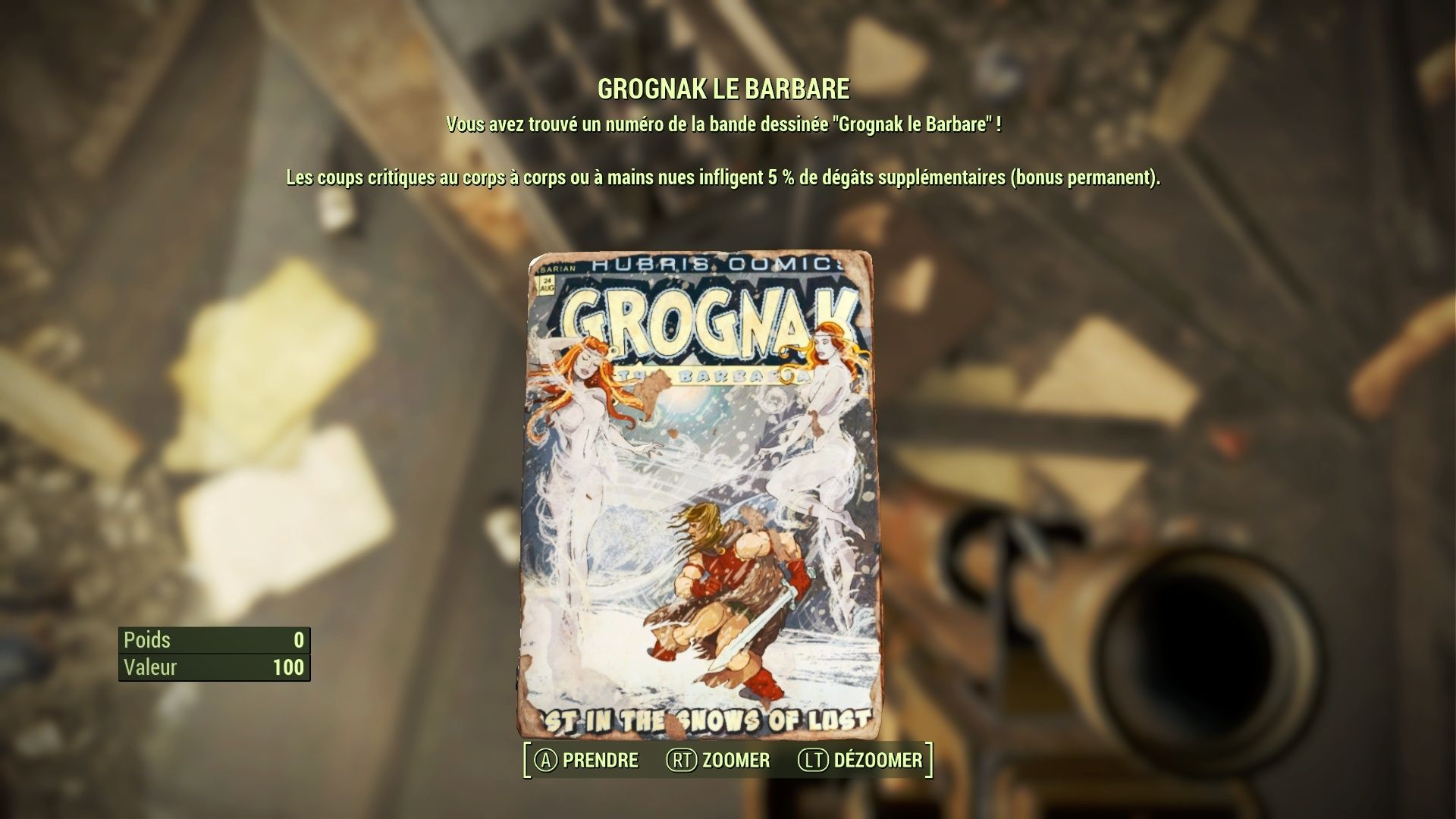 "Fallout 4 : Les magazines ""GROGNAK LE BARBARE"" Fallou26"