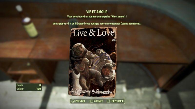 """Fallout 4 : Les magazines """"VIE ET AMOUR"""" : Fallou28"""