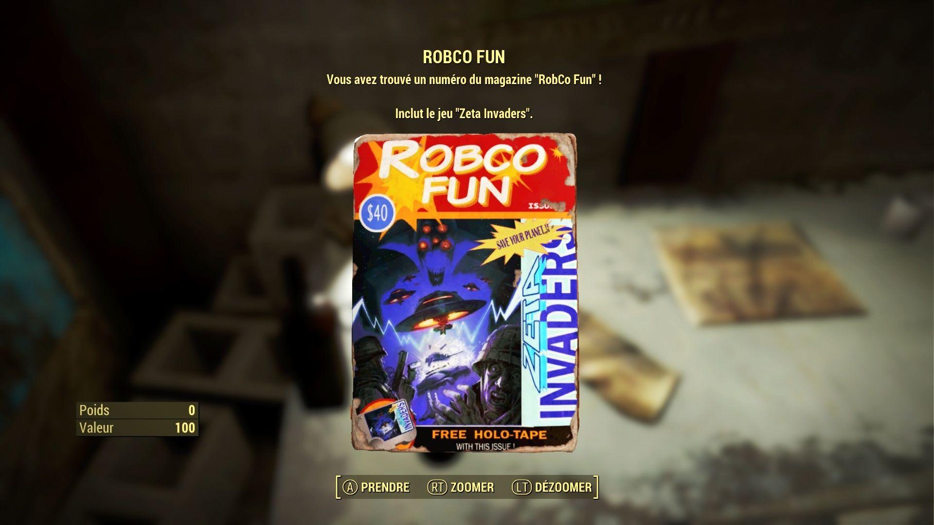 "Fallout 4 : Les magazines ""ROBCO FUN"" Fallou31"