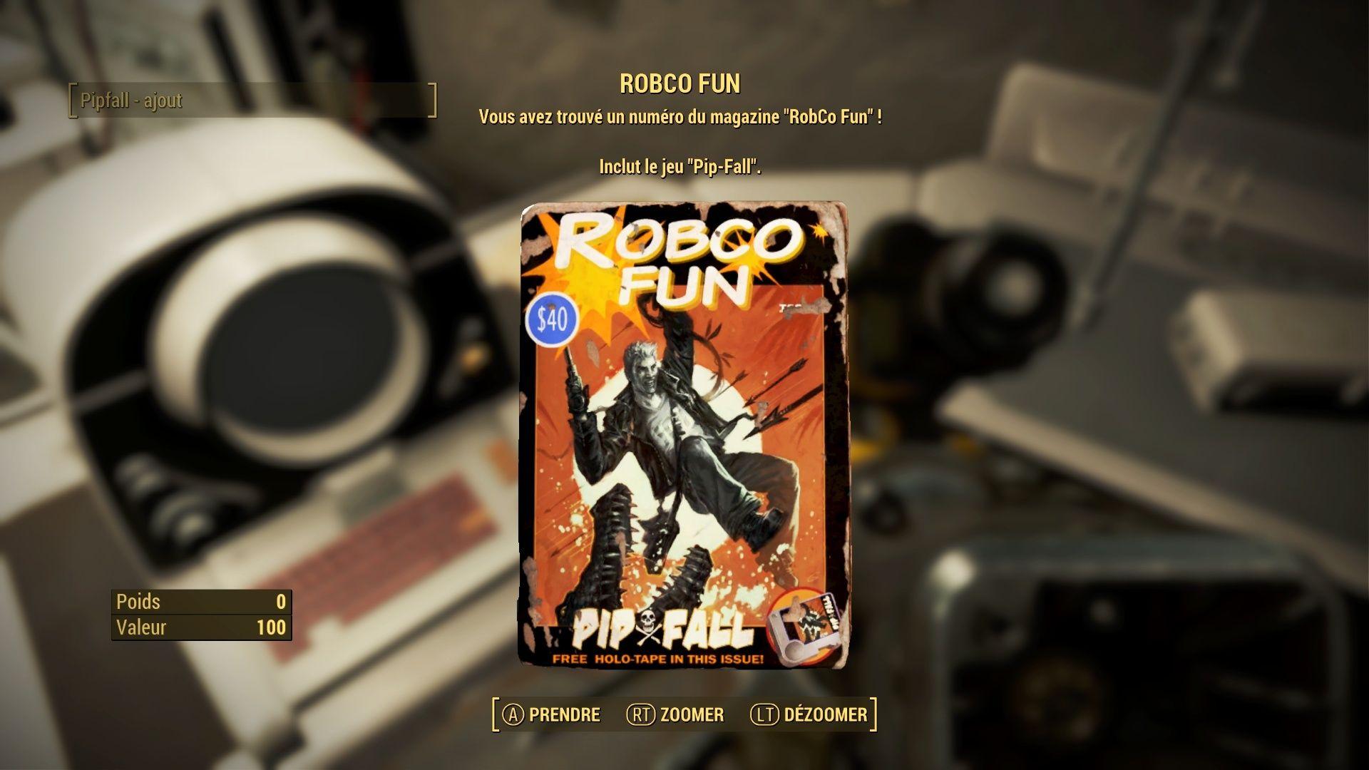 "Fallout 4 : Les magazines ""ROBCO FUN"" Fallou38"
