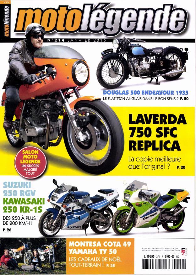 moto légende:Laverda .... Ml10
