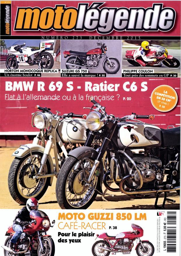 Moto légende décembre:Guzzi 850 Lm et flat twin Français.... Moto_l10