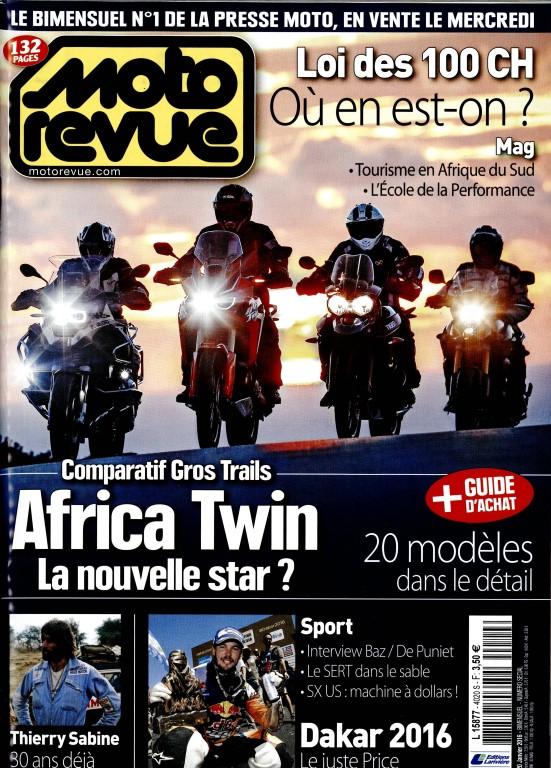 Moto revue:les gros trails et Thierry Sabine.... Mrr10