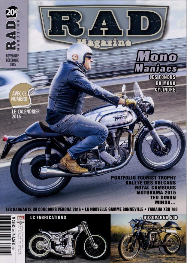 Un mono Norton,c'est dans RAD.... Rad10
