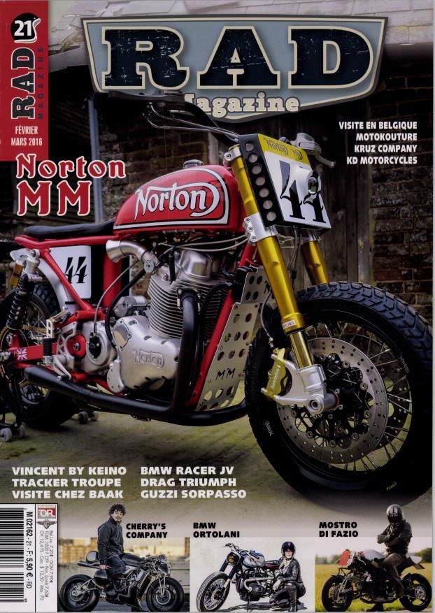 Une Norton qui respire bien dans RAD mag.... Rad11