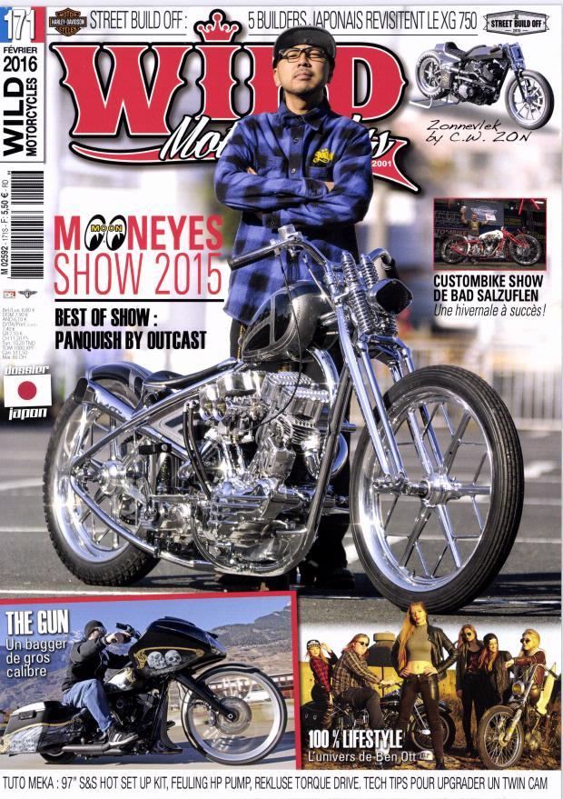 Des filles en Harley et le Mooneyes show.... Wild10