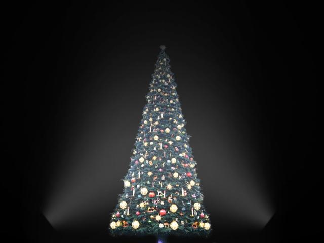 [SIMULATION] Illumination réaliste du Sapin de Noël de Disneyland Paris 51616510