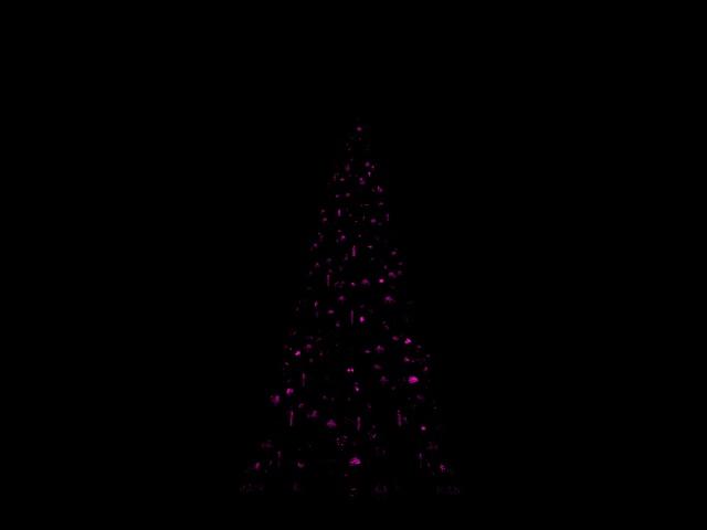 [SIMULATION] Illumination réaliste du Sapin de Noël de Disneyland Paris Rose11