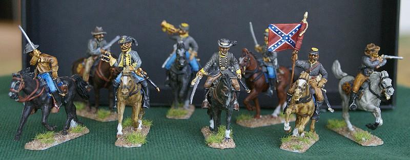Cavalerie confederée 1/72 Dsc05132