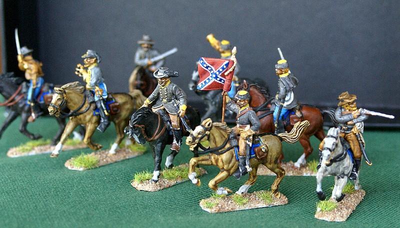 Cavalerie confederée 1/72 Dsc05133