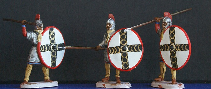 Infanterie lourde tardive romaine 1/72 Dsc05317